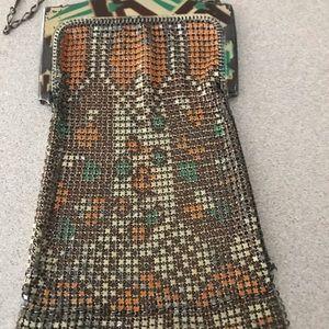 Whiting & Davis Vintage  metal mesh bag 1940